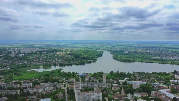 Thumbnail for Aerial View City Berdichev, Ukraine