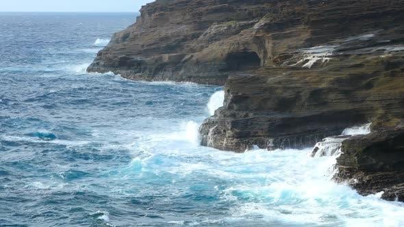 Thumbnail for Ocean Waves Hawaii Shoreline Scenic
