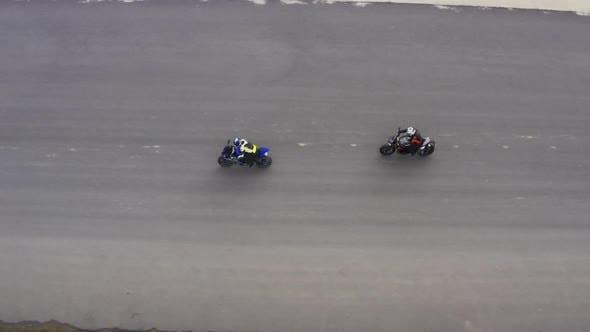 Motobikers Racing Highspeed Top View