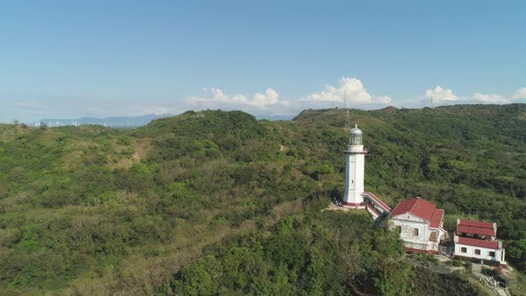 Cover Image for Cape Bojeador Lighthouse. Philippines, Luzon