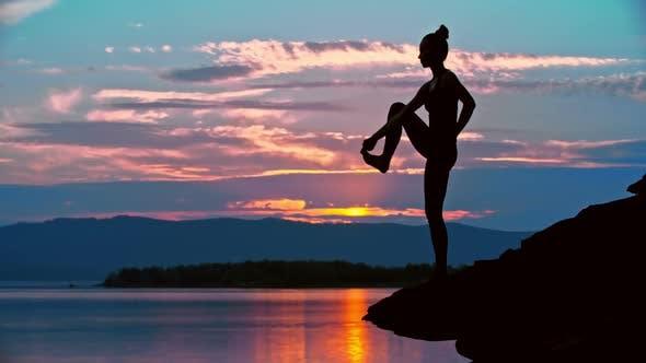 Thumbnail for Yoga Balance at Dusk