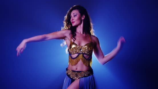Thumbnail for Sexy Argentinian woman belly dancer