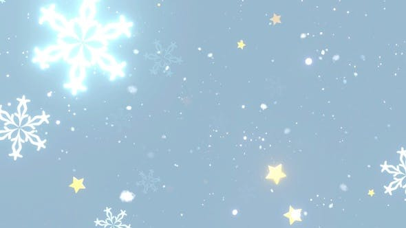 Thumbnail for Glowing Snowflakes