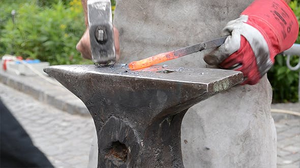Thumbnail for Smith Works Metal on Anvil