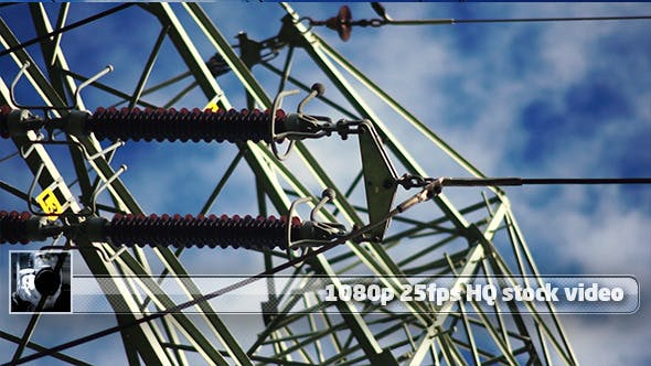 High-Voltage Tower Time Lapse 2