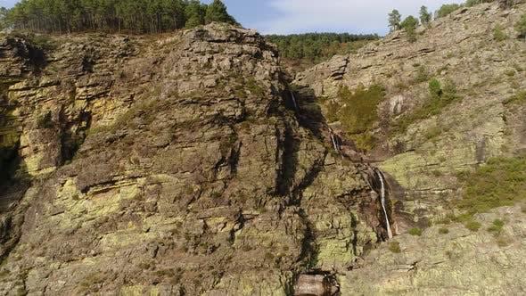 Thumbnail for Beautiful Waterfall on Mountains 4k