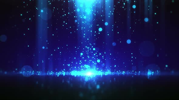Thumbnail for Particle Elegance Background