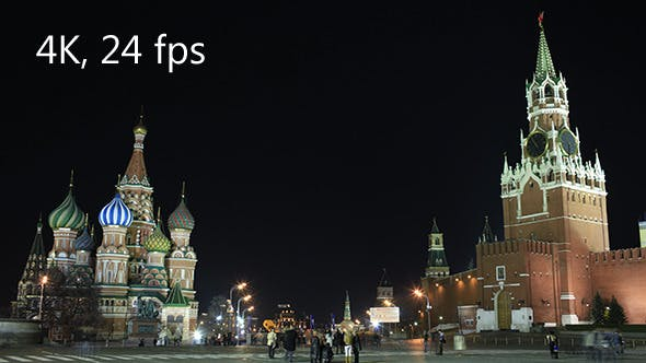 Thumbnail for Kremlin In Moscow At Night