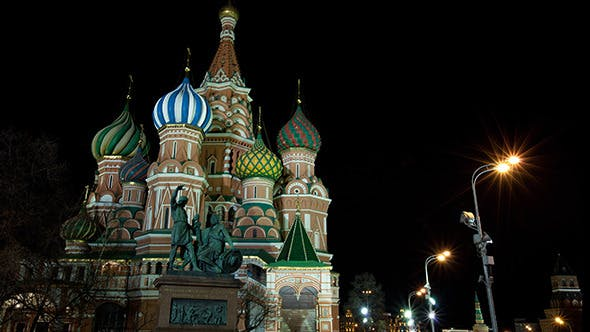 Thumbnail for St Basil Cathedral In Moscow