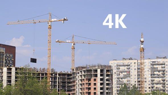 Thumbnail for Construction Cranes 1