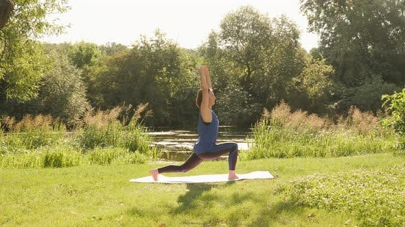 Stretching. Yoga. Fitness