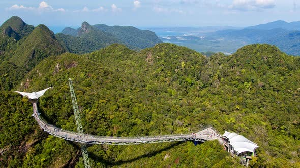 Thumbnail for The Sky Bridge In Mountains Of Langkawi Malaysia