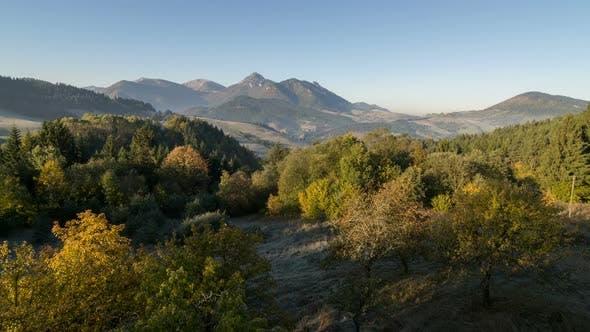 Thumbnail for Morning Sun Light in Mountains