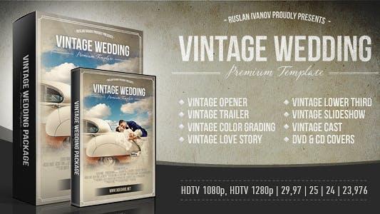 Thumbnail for Paquet de mariage vintage