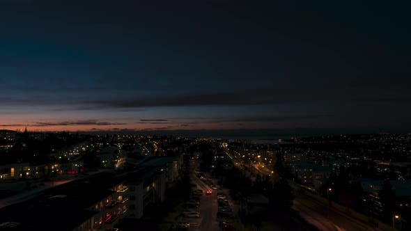 Thumbnail for Night Lights in Reykjavik