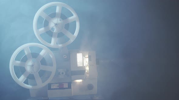 Thumbnail for Retro-Filmprojektor mit 8 mm Spule Rollen