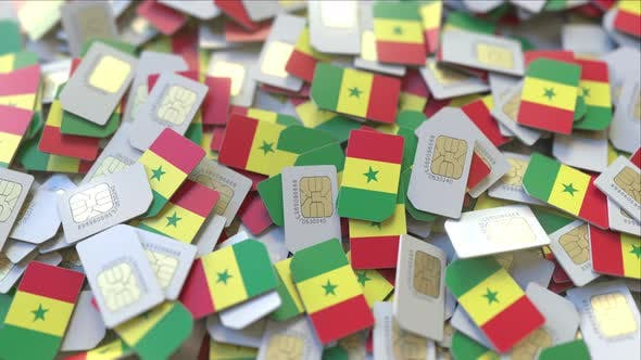 Thumbnail for SIM Cards with Flag of Senegal