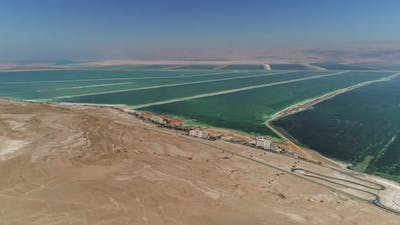 Aerial of the Dead Sea