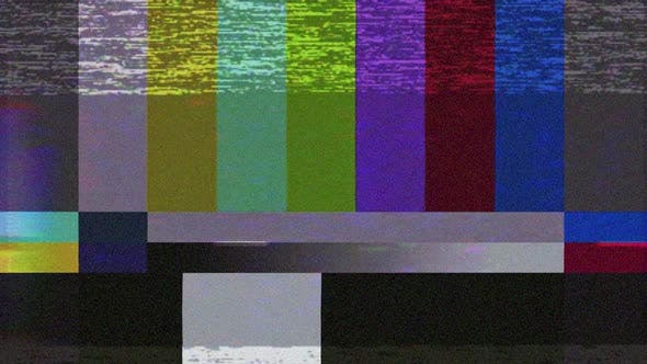 Fehler beim TV-Bildschirm