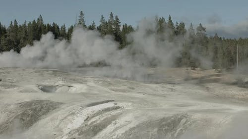 Steam vents in Yellowstone National Park