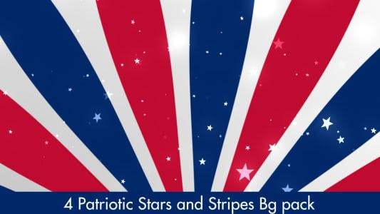 Thumbnail for US Patriotic Stars and Stripes 2