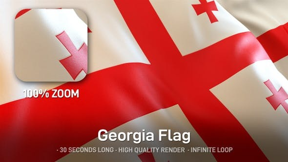 Thumbnail for Georgia Flag