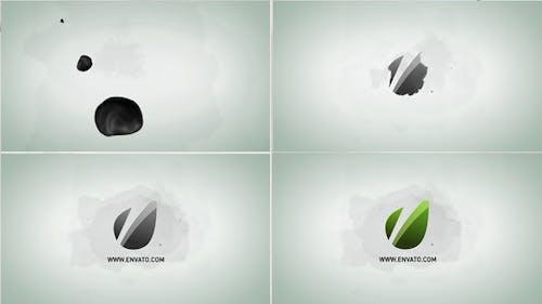 Ink Blot Logo Reveal