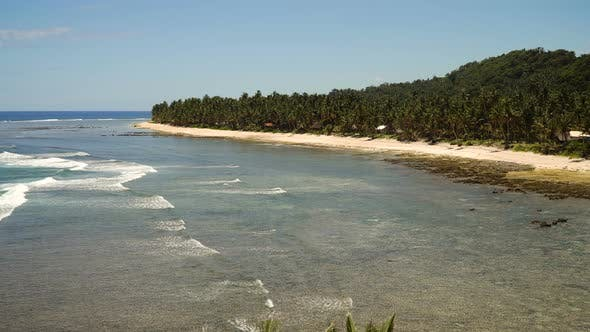 Thumbnail for Beach on a Tropical Island. Philippines, Siargao
