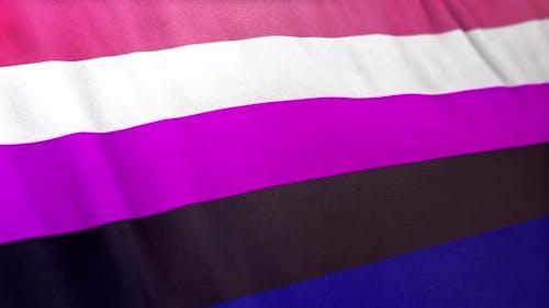 Genderfluidity Pride Flag Loop