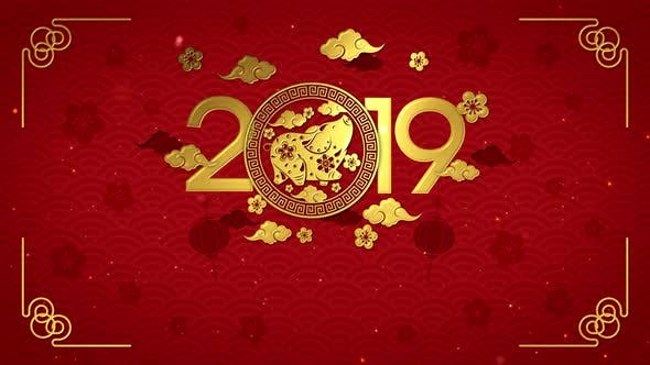 Thumbnail for Chinese New Year 2019 Background