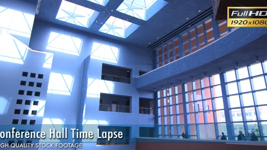Thumbnail for Conference Hall Time Lapse