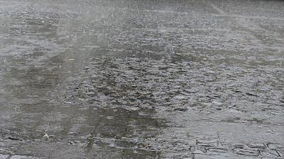 Rain On Pavement Plaza