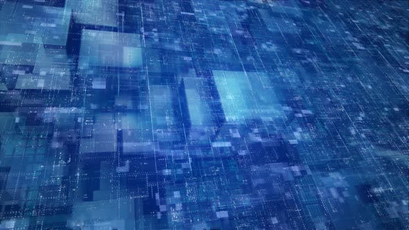 Thumbnail for Glass Cubes With Data Particles