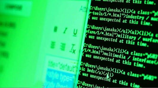 Thumbnail for Computer Screen HTML Code 5