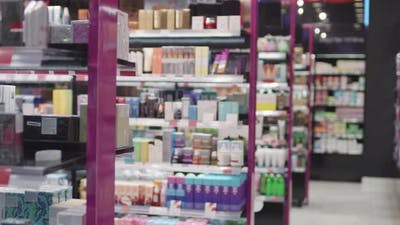 Overview Of Cosmetics Store