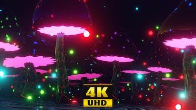 Dancing Mushrooms 4K