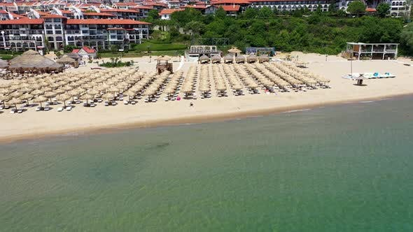 Thumbnail for Aerial View to the Beach in Summer