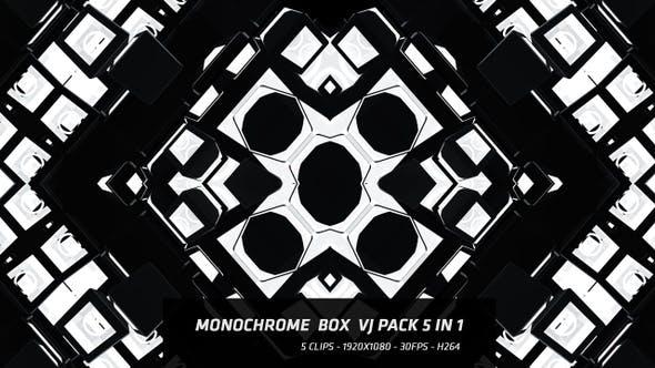 Thumbnail for Monochrome Box Vj Pack 5 in 1
