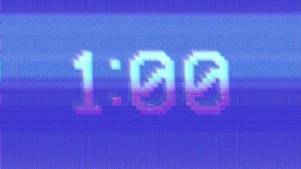 CRT 60 Sec Countdown