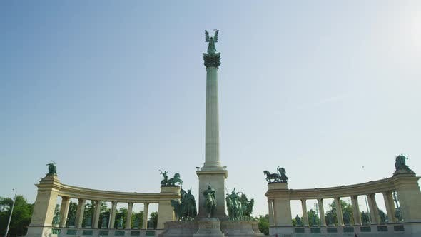 Thumbnail for The Millennium Monument in Budapest