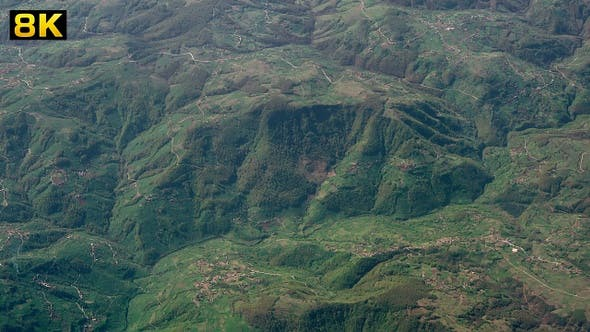 Thumbnail for Aerial View of Hilly Forest