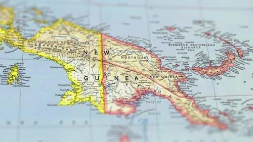 Southeast Asia On Paper Map,Slider Shot
