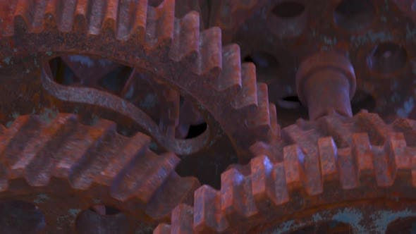 Cover Image for Rusty Gears Mechanism