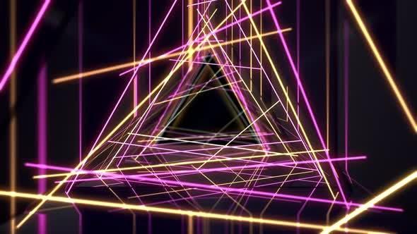 Thumbnail for Triagle Light Retro 01 4K