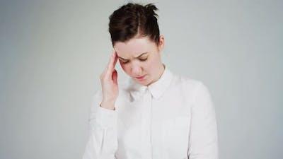 A worried woman