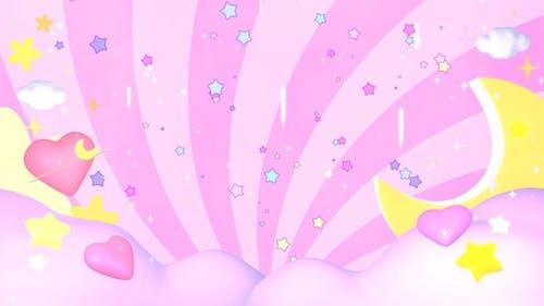 Kawaii Pink Sky