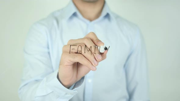 Thumbnail for Family, Writing On Screen
