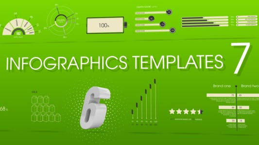Thumbnail for Infographics Templates 7
