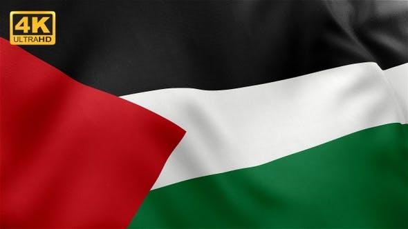 Palestine Flag - 4K