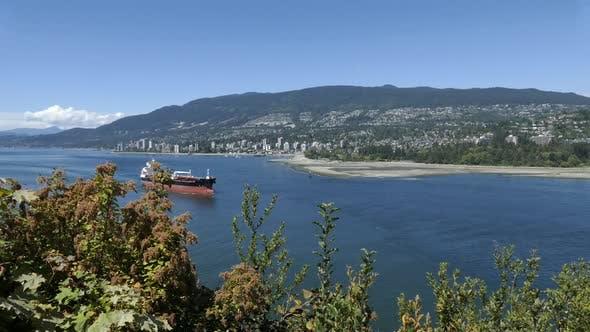 Thumbnail for West Vancouver - Ocean Shore - Buildings, Beaches, Parks, Mountains, Ship